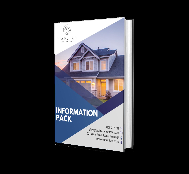 free information pack - Topline Carpenters Tauranga Builders